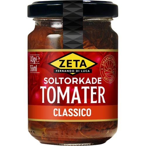inlagda torkade tomater