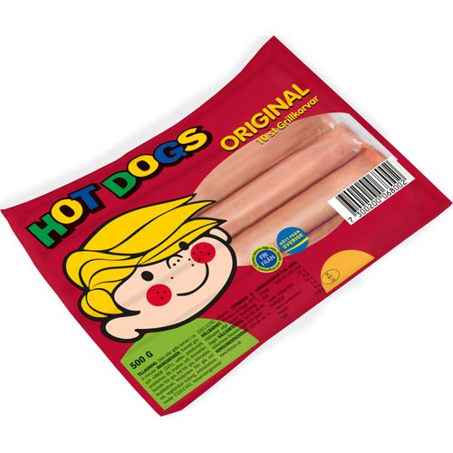 Hot Dogs 10-p 500g Scan