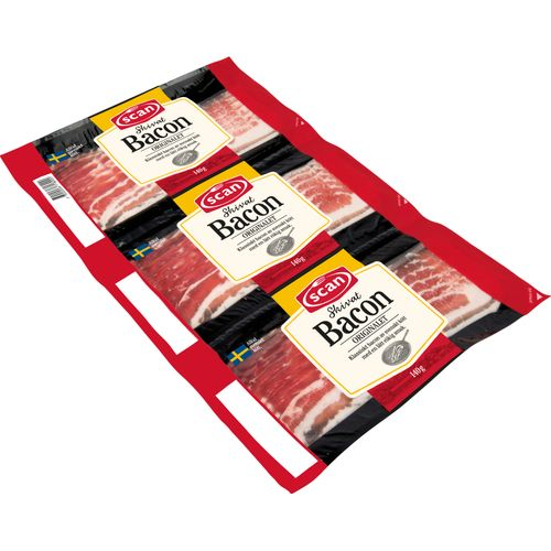 Bacon 3x140g Scan