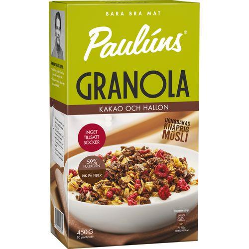 pauluns granola näringsvärde