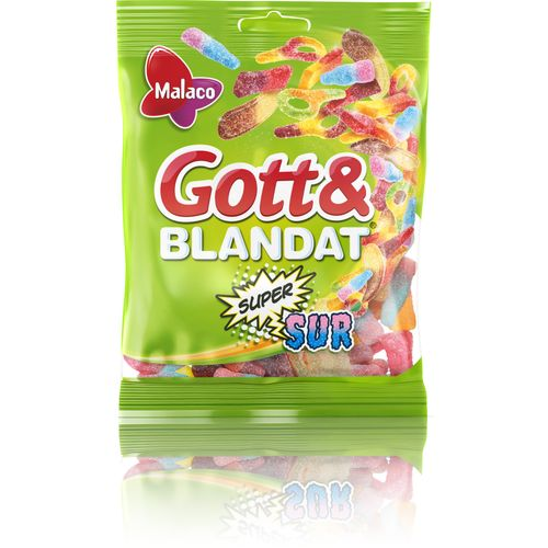 gott och blandat ingredienser