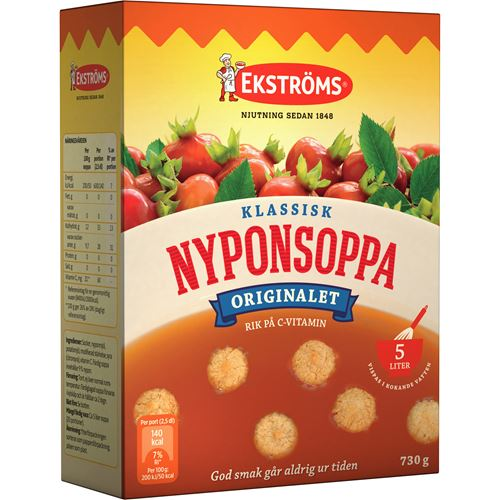 ekströms nyponsoppa dosering