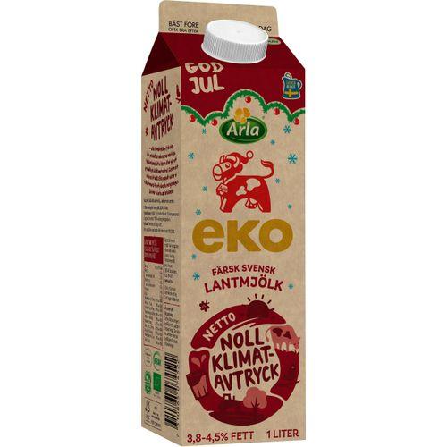 vad kostar ekologisk mjölk