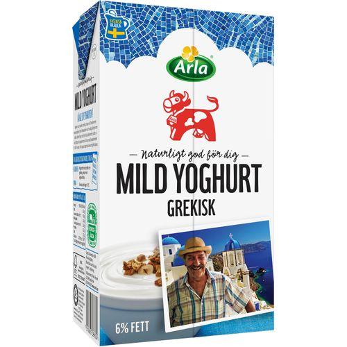 arla naturell yoghurt