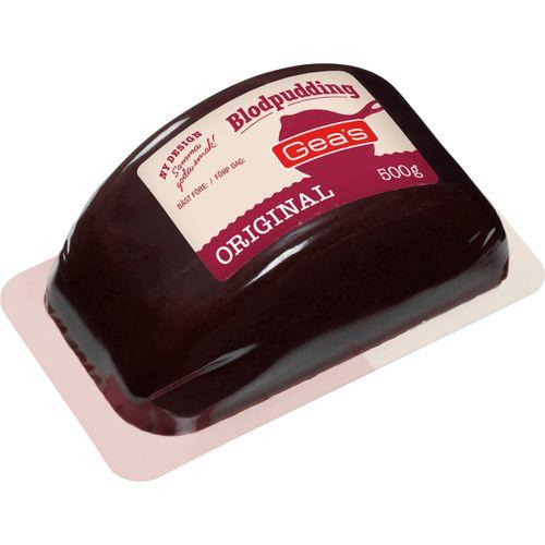 vad innehåller blodpudding
