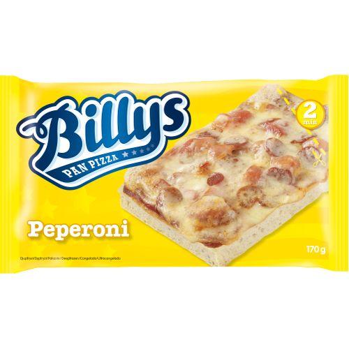 kalorier billys pan pizza