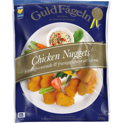 Nuggets Kcal: Chicken Nuggets Fryst 350g Guldfågeln Hos MatHem