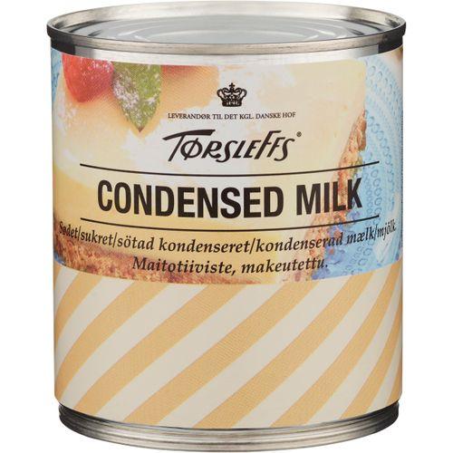 kondenserad mjölk näringsinnehåll