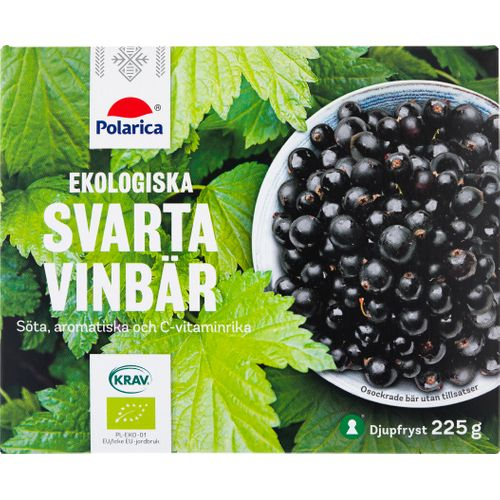 Köpa frysta svarta vinbär