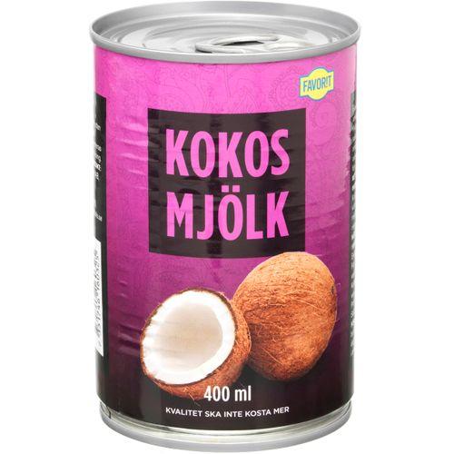 innehåller kokosmjölk laktos