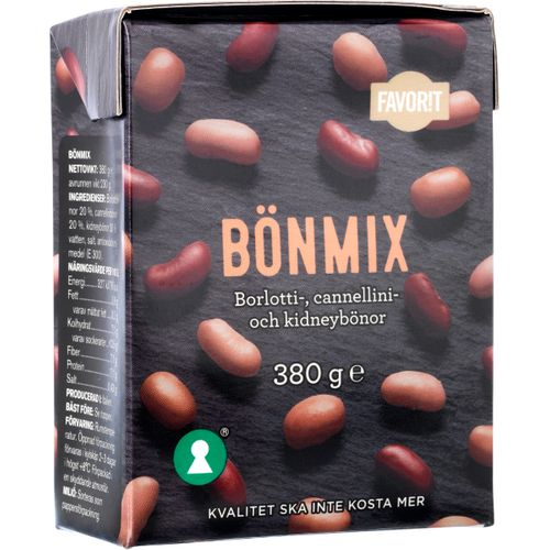 Bönmix 380g Favorit