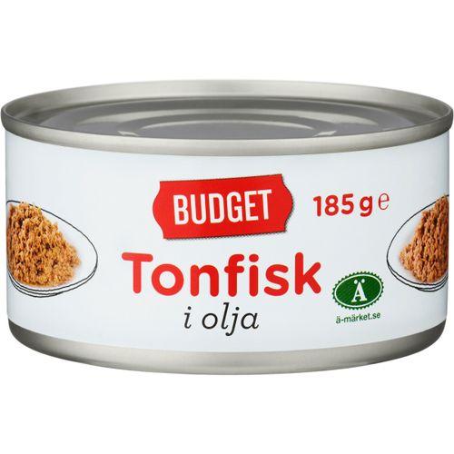 tonfisk i olja kcal