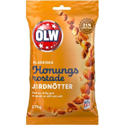 honungsrostade jordnötter recept