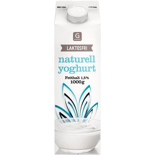 Laktosfri yoghurt naturell