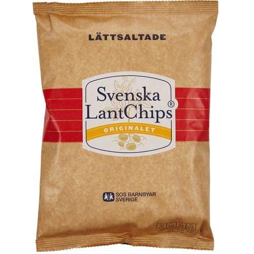 olw lättsaltade chips