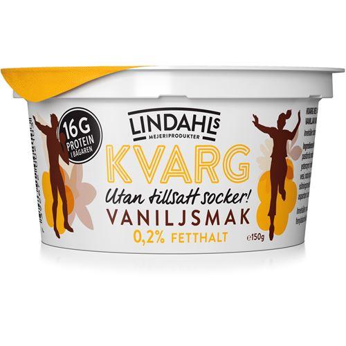 kalorier kvarg vanilj