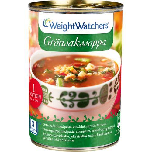 viktväktar soppa kcal