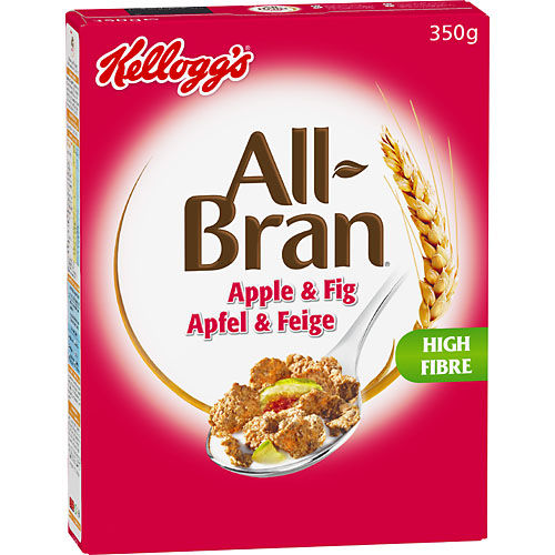 All Bran Äpple & Fikon 350g Kelloggs