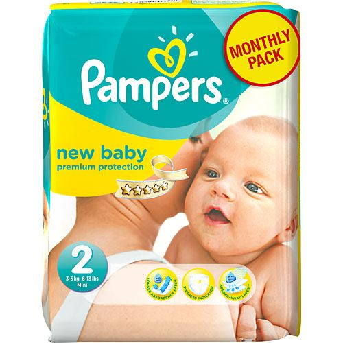 New Baby S2 MSP Pampers