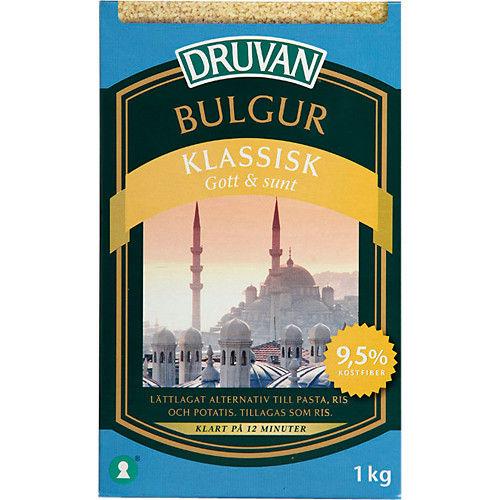 Bulgur Klassisk 1kg Druvan
