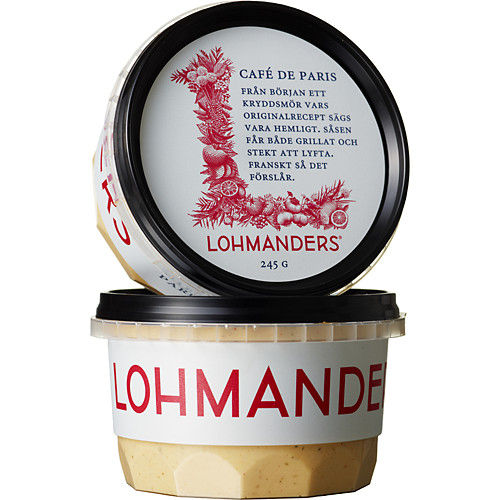 Cafe de paris 245g Lohmanders