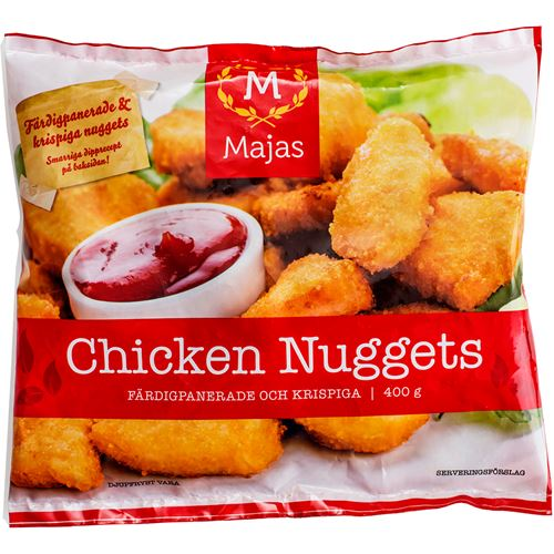 chicken nuggets i ugn