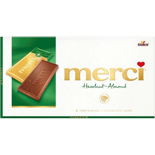 merci choklad innehållsförteckning