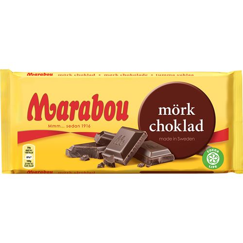 Mörk choklad kcal
