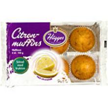 Citronmuffins Uvs 150g Hägges