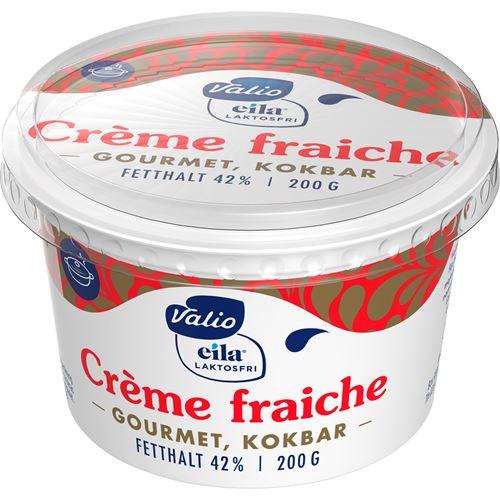 laktosfri creme fraiche med smak