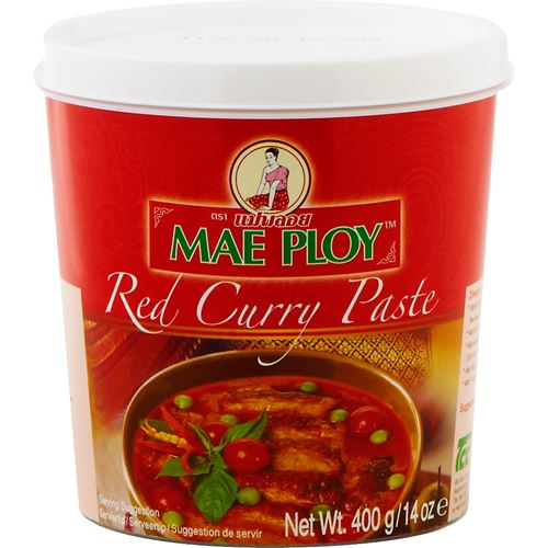 ingredienser red curry paste ica