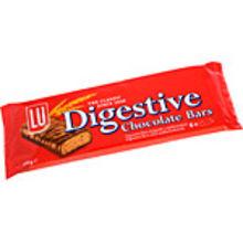 Digestive bars 6-p 135g Lu