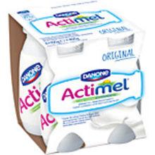 Drickyoghurt naturell Actimel 2% 4x100g Danone
