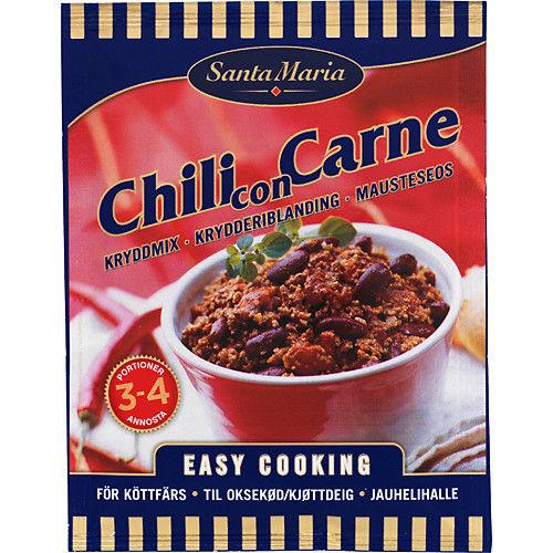 chili con carne kryddmix recept