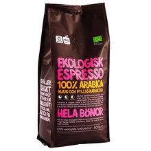 Espresso Hela Bönor 500 g Garant