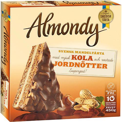 Fryst Mandeltårta Snick 450g Almondy hos MatHem Almondy Daim Taart Recept