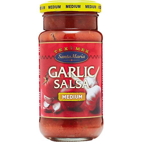 Garlic Salsa 230g Santa Maria
