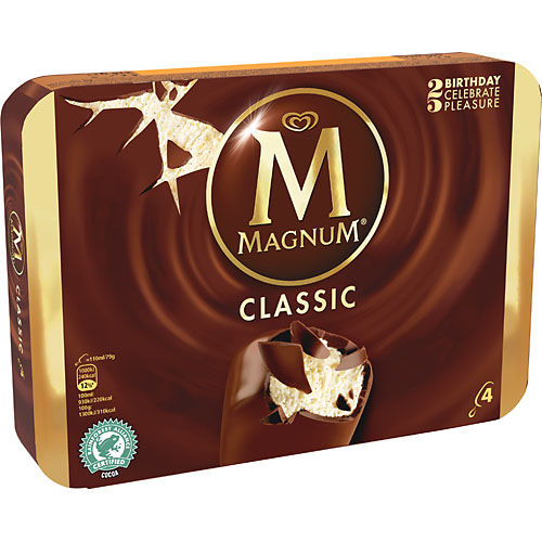 Glass Magnum Classic 4-p GB Glace