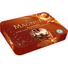 Glass Magnum Mandel 4-p GB Glace