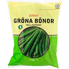 frysta gröna bönor