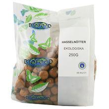 Hasselnötter Eko 250g Bio food