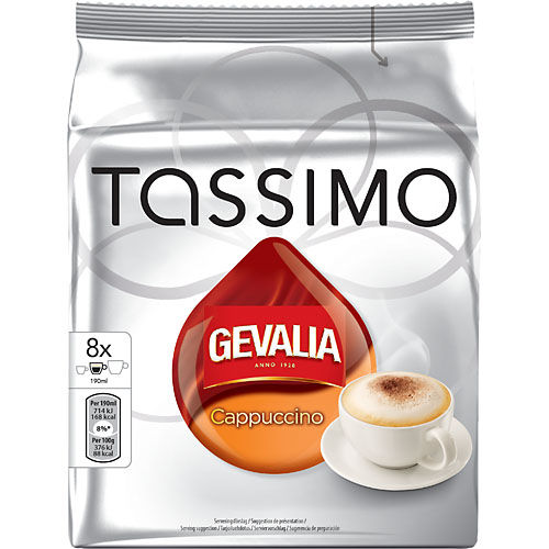 Kaffe Tassimo Cappuccino 272g Gevalia