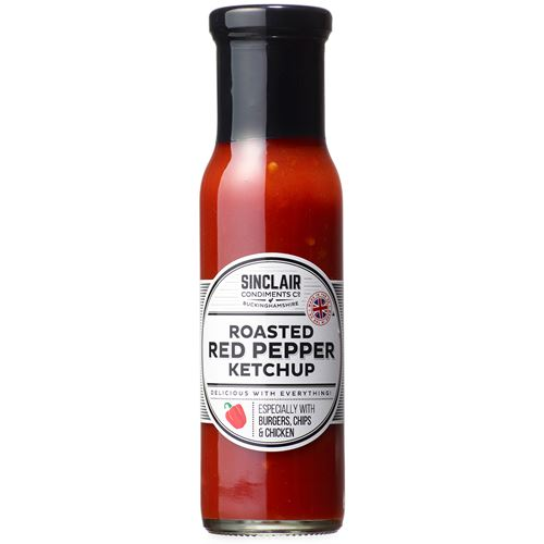 Ketchup Roast Red Pepper 280g Sinclair Condiments