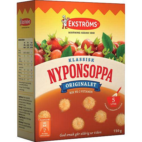 Klassisk Nyponsoppa 730g Ekströms