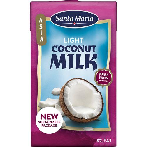 kokosmjölk light kalorier