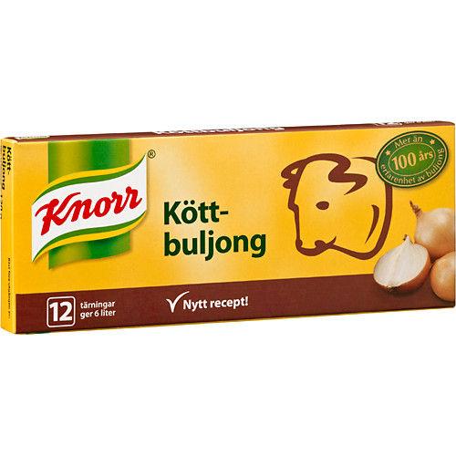 Köttbuljong 12x0,5L 120g Knorr