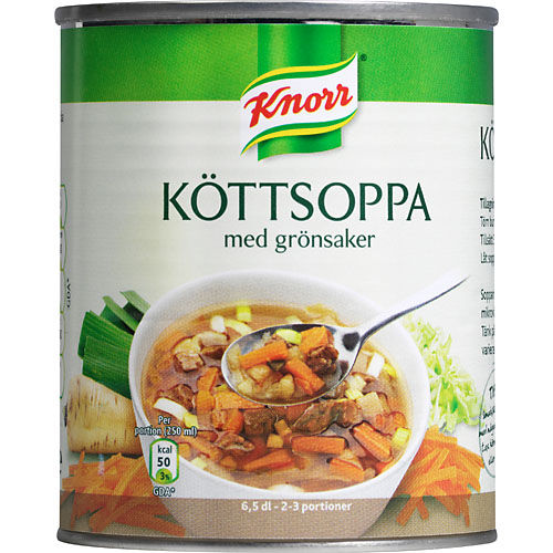 Köttsoppa/grönsaker 340g Knorr
