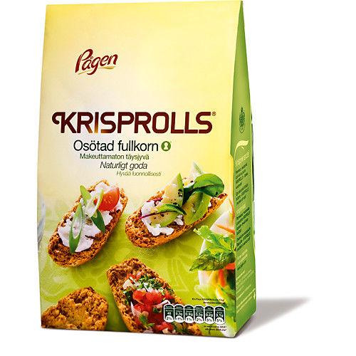 Krisprolls Osötad Fullkorn 400g Pågen