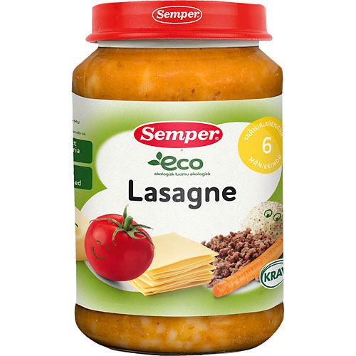 Lasagne eko 6Mån 190g Semper