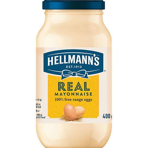 vad innehåller majonnäs